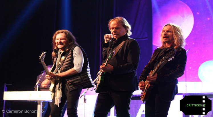 Ricky Phillips, James Young, Tommy Shaw. Photo Credit: Cameron Bonomolo.